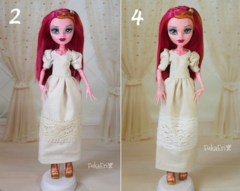4 STYLES! Clothes/Outfit/Dress for Monster High dolls