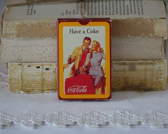 Coca Cola Vintage Playing Card
