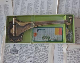 Vintage plant hanger hook Amerock plant hanger Antique brass hook