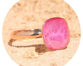 artjany ring pink peony