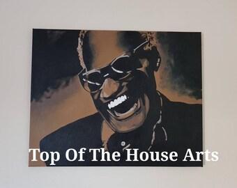 Ray Charles Canvas