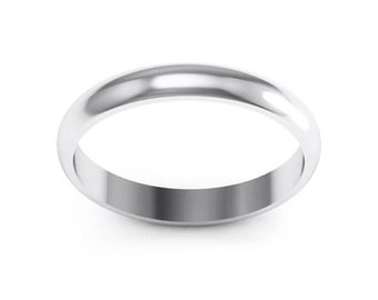 ON SALE Stainless Steel 4mm Ring Band. Free Engraving Included.