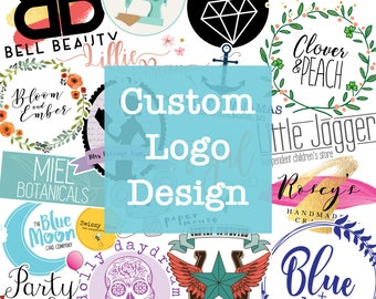 Custom Logo Design - Bespoke Logo Design - Unique Logo - One Off Design - Branding - Company Logo - Simple Logo Design