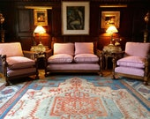Fabulous Antique Three Piece Sofa Settee Suite Edwardian Bergere