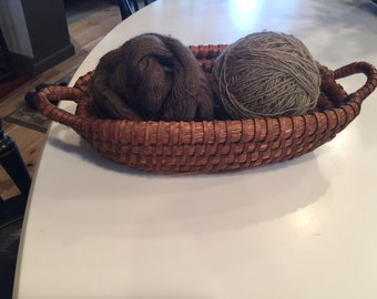 Antique Rye Basket