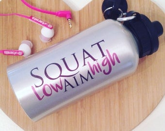 Sports Bottle - Ladies - Girls - Gym Water bottle - Pink - Gym accessories - Fitness - Healthy Living