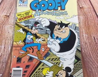 Vintage September 1990 Walt Disney Goofy Adventures Comic Book #4