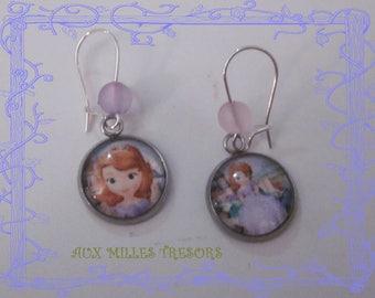 child earrings Princess sofia