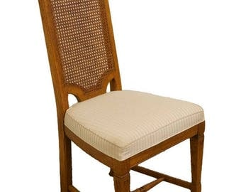 HENREDON Town & Country Collection Cane Back Dining Side Chair