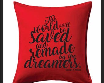 saved and remade by the dreamers sarah j maas fandom pillow bookshelf decor throne of glass