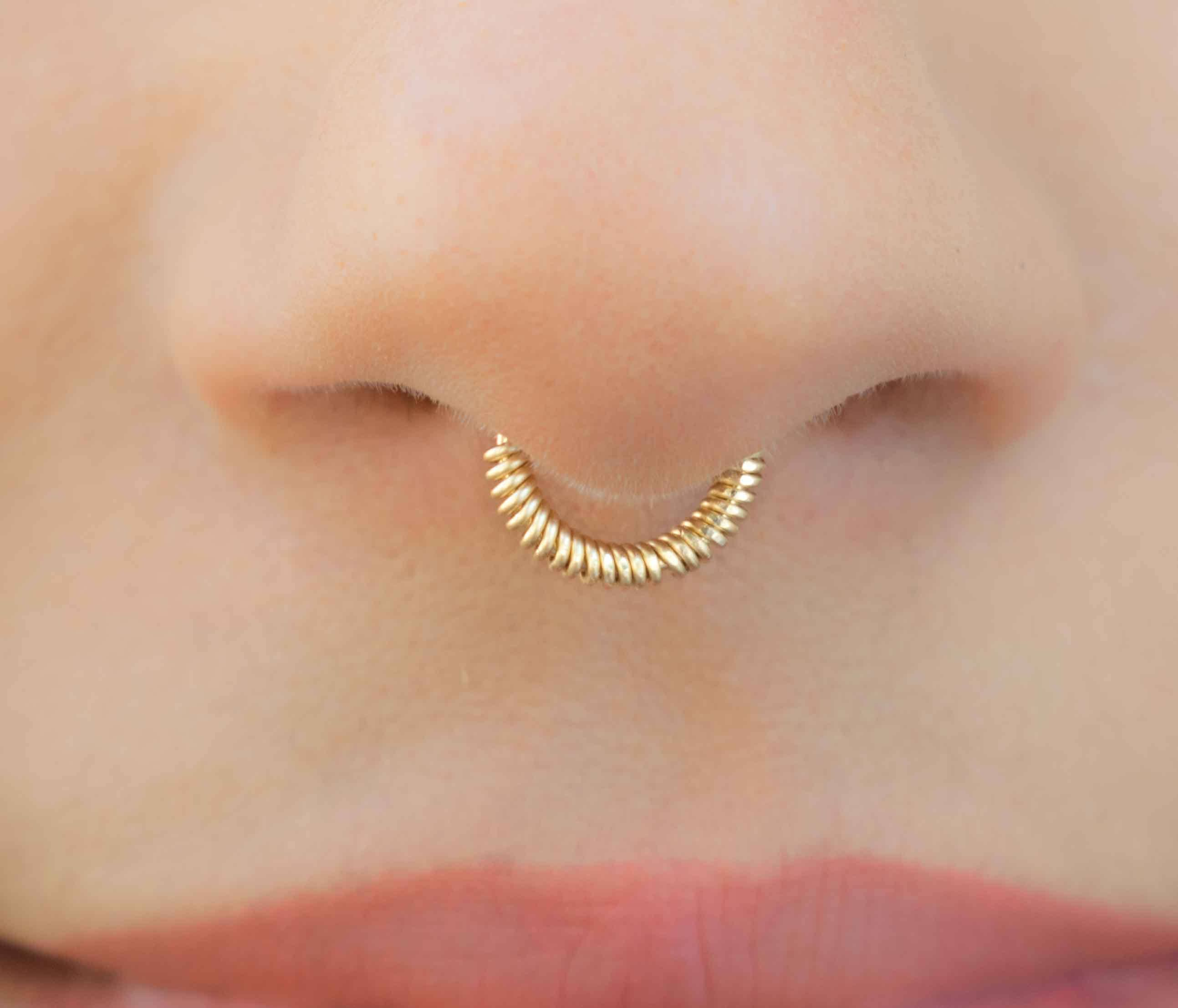nose il stud zoom tiny rose solid ear listing ball fullxfull gold