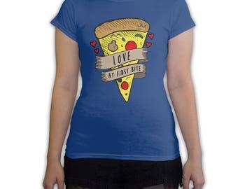 Function -  Valentine's Day Love At First Bite Women's Fashion T-Shirt