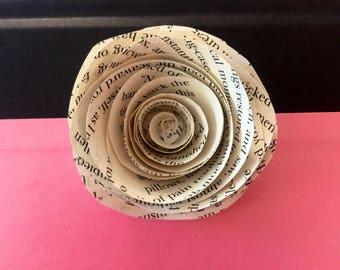 25-Alice in Wonderland Paper Roses-
