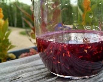 Raspberry Jam, Maine Raspberries, pint