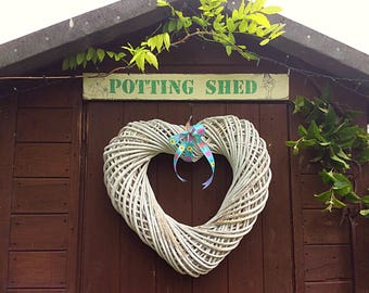 Potting Shed Sign, Garden Hut Sign, Fathers Day Gift, Wooden Garden Sign, Wood Sign, Wooden Quotes, Garden Shed, Allotment Sign, Garden gift