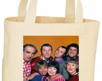 Laverne and Shirley vintage style custom tote bag
