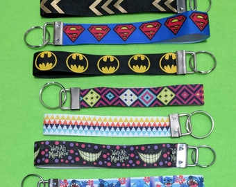 Various Character Lanyards/Wristlets