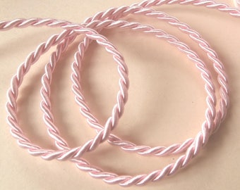 Pink twisted cord, sewing or craft (6333556)