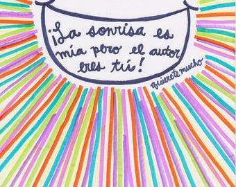 El autor de mi sonrisa: The Author of My Smile-- Quierete mucho