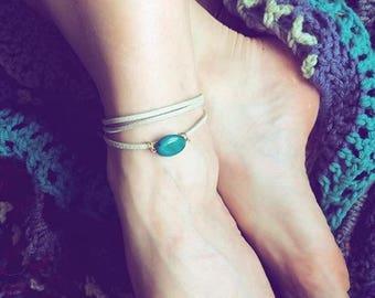 Summer ankle bracelet