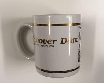 Vintage Hoover Dam Mug