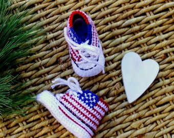 American FLAG baby shoes, Make AMERICA Great Again baby shoes, BABY American Flag converse shoes, 4th of July Baby
