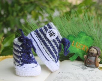 Harry Potter baby Shoes, HARRY POTTER baby booties, Ravenclaw - Hufflepuff - Gryffindor - Slytherin, Newborn baby Converse