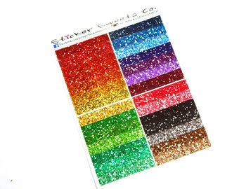 Multi Set of Glitter Headers