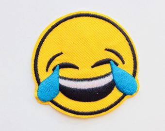 Emoji | LOL | LMFAO | Patches | Patch | Hipster | Trendy | Emo | DIY | Fashion | Cute | Retro
