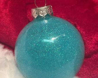 Caribbean Glitter Ornament