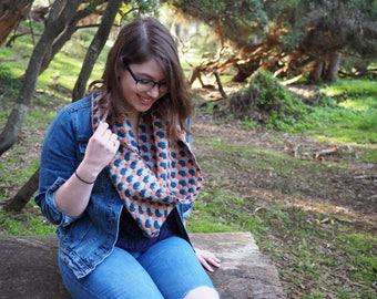 Flow Cowl | Handwoven | Alpaca Silk | Vintage Inspired | Winter Accessory | Accessories