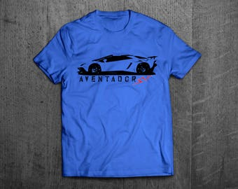 Lamborghini Aventador SV, Lambo SV t shirts, Lambo aventador t shirts, men tshirts, women t shirts, lambo Cars t shirts, Italian car shirt