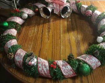 Big Christmas wreath!