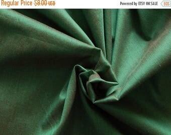 5% off 1 yard of Silk Fabric, Dupioni Silk Fabric, Blend Silk Fabric, Art Silk Fabric, Dual Tone Dupioni Silk Fabric, Green Dupioni Fabric
