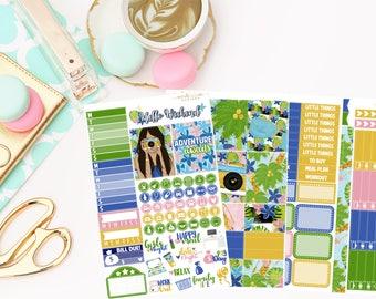 Getaway Mini Kit, planner stickers