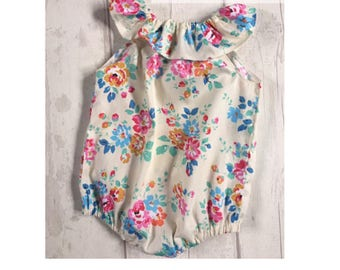 Play Suit Girls Play Suit Baby Romper Baby Girls Romper Romper Vintage Baby Baby Play Suit Baby Girl Baby Girl Play Suit Baby Clothes