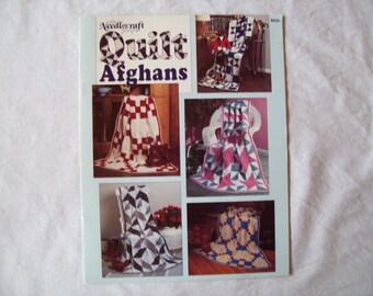 The Needlecraft Shop QUILT AFGHANS Crochet Patterns