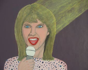 Taylor Swift Pink Portrait