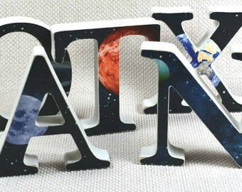 Galaxy Nursery Letters, Trainee Astronaut Gift