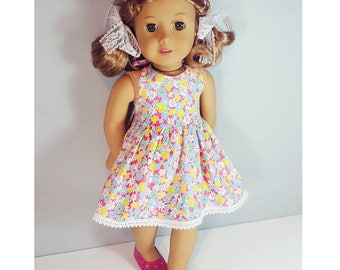 18 inch doll clothes - Camilla Halter Dress