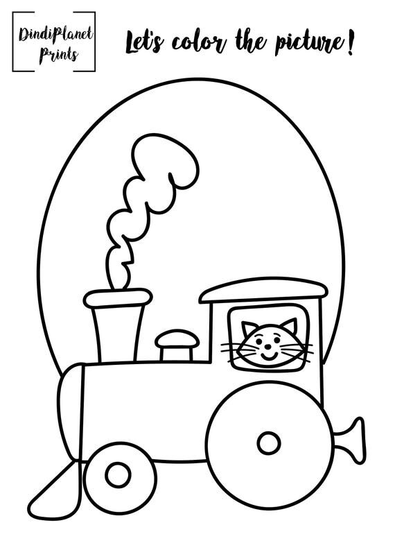 Printable Coloring Pages Digital
