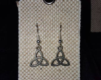 Charmed symbol  Dangle Earrings