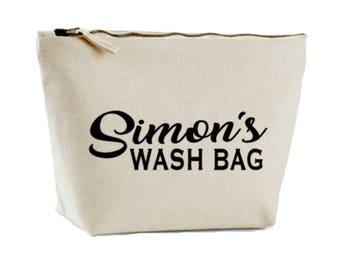 Custom Toiletry Bag, Men's Wash Bag, Dad Gift, Wash Case, Shaving Bag, Shower Bag, Father Gift, Gift For Dad Daddy,