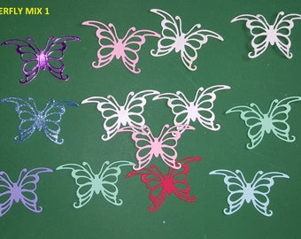 Die Cuts Butterfly mix 1
