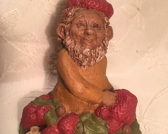"Tom Clark Gnome - ""Patch"", he just grows strawberries"