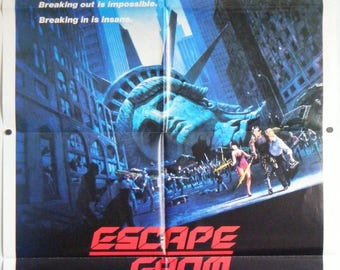 Escape From New York - 1981 - Original Australian one sheet movie poster