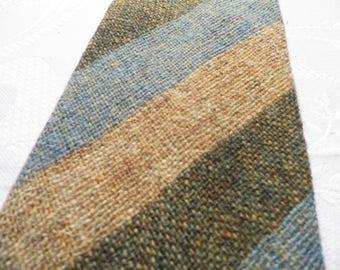 Vintage Afonwen Welsh Wool Tweed Tie