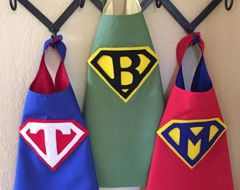 Kids - Cotton/Poly & Satin Personslized SuperHero Capes