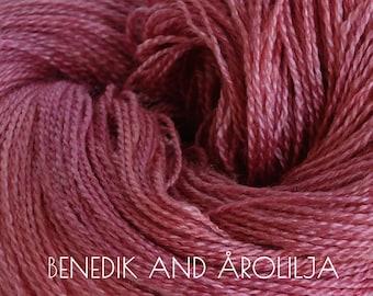 BENEDIK and ÅROLILJA Lace - BFL/Silk Norne yarn