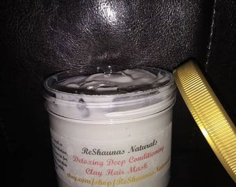 Detoxing Deep Conditioning Clay Hair Mask